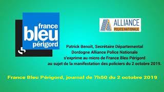 France Bleu Périgord, journal de 7h50 du 2 octobre 2019