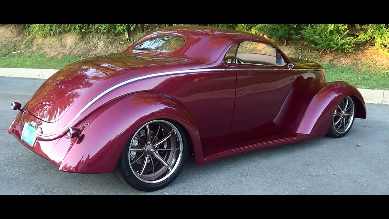 1937 Ford Street Rod - YouTube