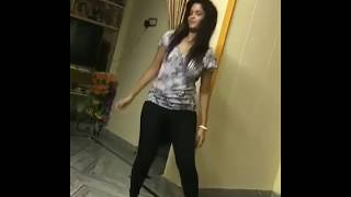 Girl Solo Dance at Home