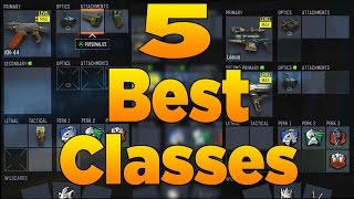 5 Best Classes in Call of Duty Black Ops 3 (Best Class Setups)