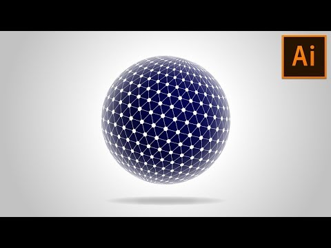 😍 How to create Spherical Tesseract Shape in Adobe Illustrator Tutorial Mp3