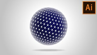 😍 How to create Spherical Tesseract Shape in Adobe Illustrator Tutorial