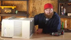 How to Help a Window Air Conditioner Drain Better : Air Conditioning