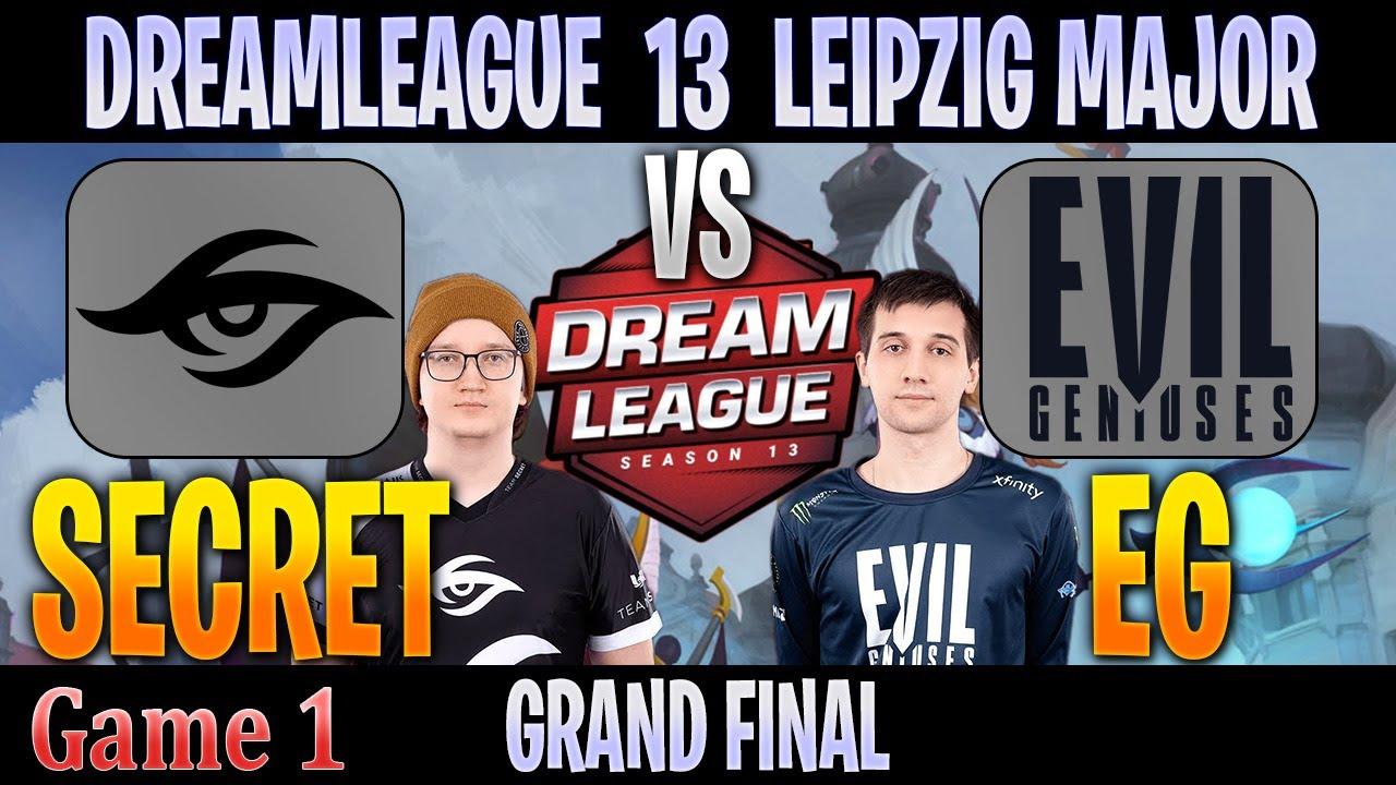 Team Secret vs EG | Game 1 Bo5 | GRAND FINAL DreamLeague 13 The Leipzig Major | DOTA 2 LIVE (ENG)