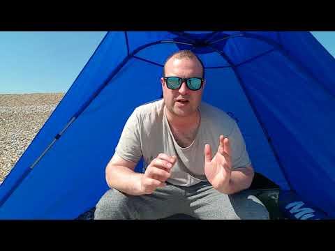 Shakespeare Salt XT Beach Shelter Review   Jimmy Willis