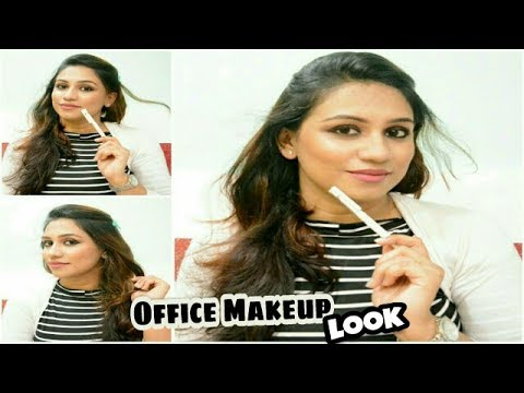 How To  Easy Office Makeup Tutorial  Office Makeup Under 10 Minutes   Quick Everyday Makeup ...