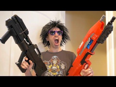 NERF GUN HALO WARS!