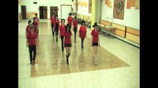 Red River Valley Line Dance (Demo + Teach)