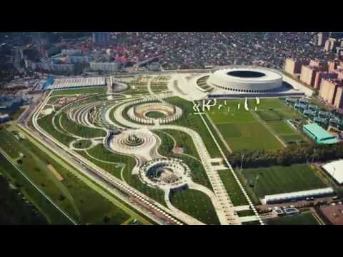 Новый парк Сергея Галицкого у стадиона ФК «Краснодар»