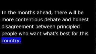 President Obama March 9th, 2013 Weekly Address - 20130309