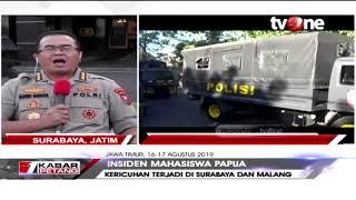 Klarifikasi Humas Polda Jatim Soal Penangkapan Dan Pengusiran 43 Masiswa Papua