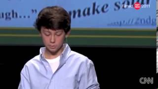 13-year-old boy genius who created revolutionary solar panels