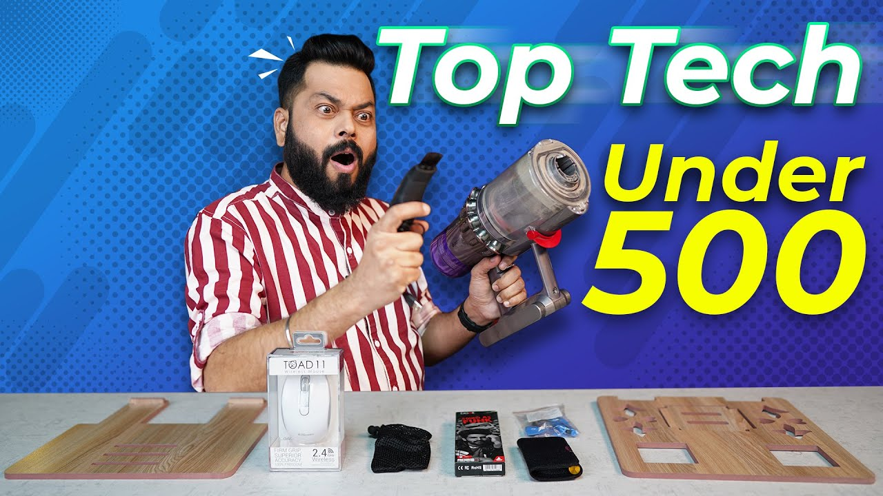 Download Top 5 Best Tech Gadgets Under Rs.500 ⚡ January 2021
