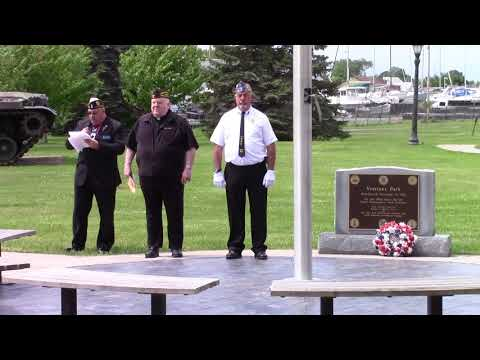 Memorial Day in Rouses Point  5-28-18