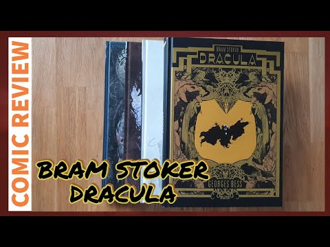 Bram Stoker Dracula von Georges Bess | (Comic Review) 046