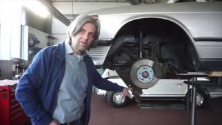 Mercedes-Benz SL R107 - unterer Querlenker durchgerostet