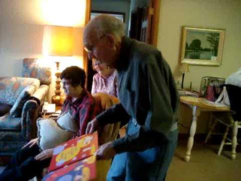 Grandpa shakes It At Ninety