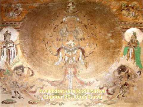 """Lotus Sutra Chapter 25 """"Avalokitesvara Bodhisattva"""""""