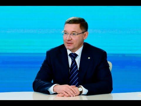 Итоговая пресс-конференция губернатора Владимира Якушева