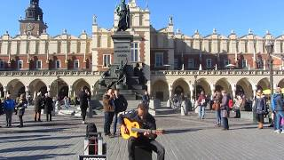 Imad Fares - Pharaon. Music in the streets of Krakow (Poland)