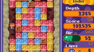 Game Boy Advance Longplay [192] Mr. Driller 2
