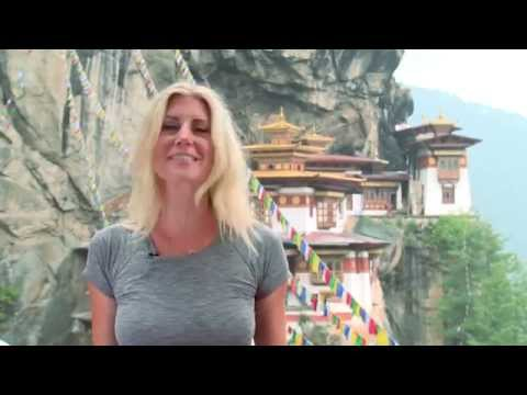 Michaela's Map  Bhutan, The Land of Happiness