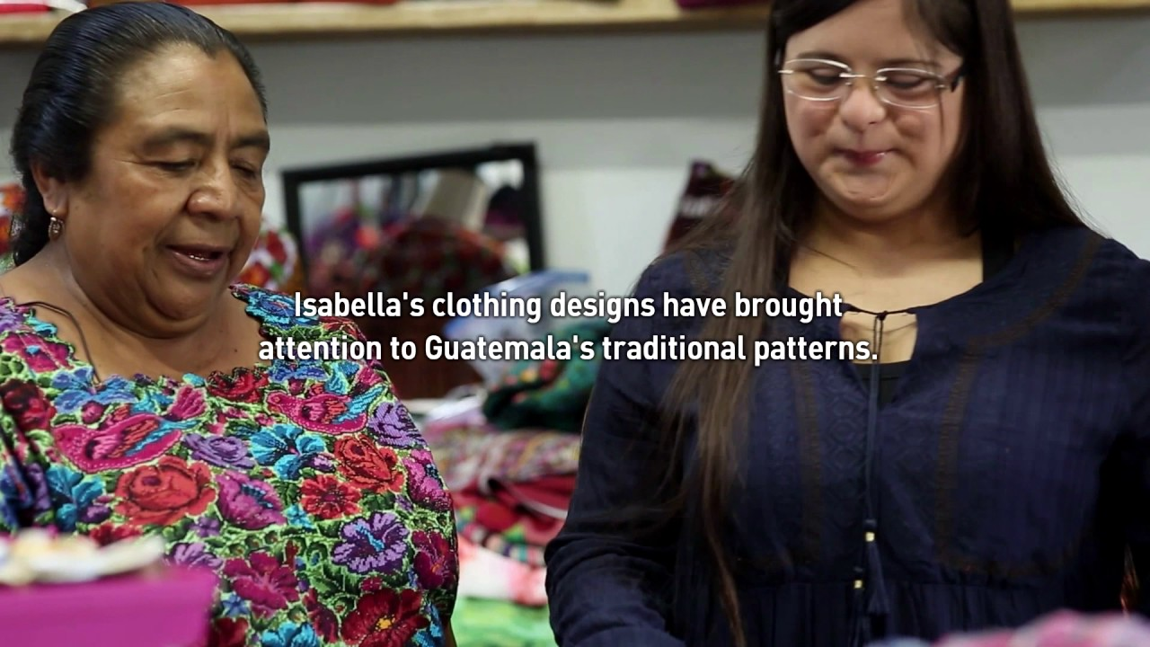 Designing Clothes That Fit Kids With Down Syndrome In Guatemala Youtube