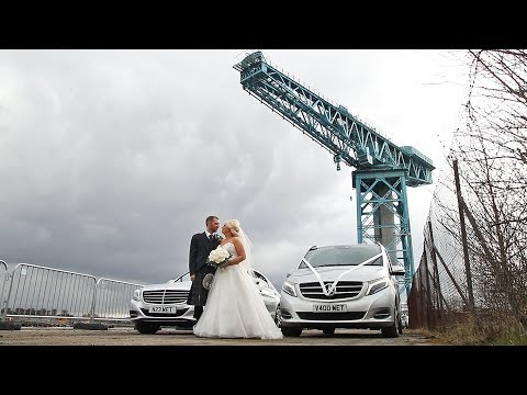 Kate and Barry's Wedding Video on top of the Titan Crane in Clydebank