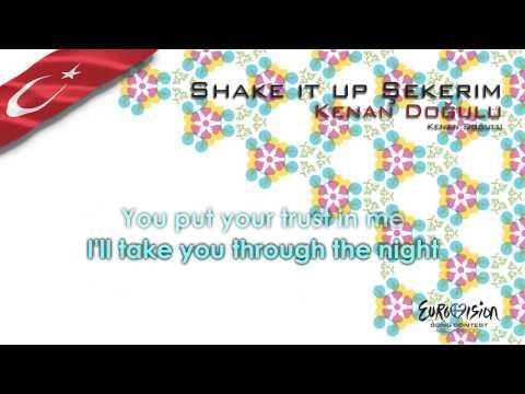 "Kenan Doğulu - ""Shake It Up Şekerim"" (Turkey)"