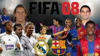 Recordando FIFA 08 | Raúl Guti Van Nistelrooy vs Ronaldinho Etoo Henry | SergioLiveHD