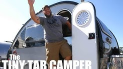 BIG DUDE- tiny tab camper. Full Tour (Tiny House Living)