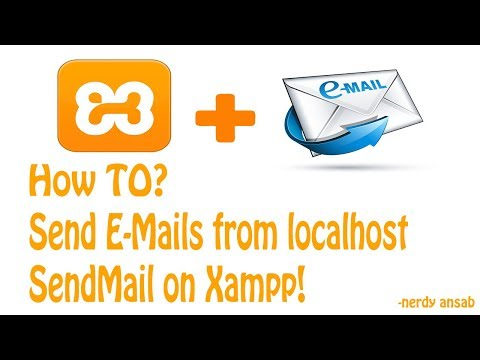5 Configure Sendmail On Xampp! Use Any Email Account To Send Mail From Xampp!
