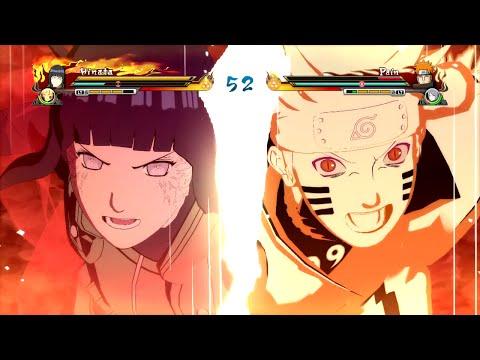 Naruto Ultimate Ninja Storm Revolution - Bijuu Naruto x Hinata Combined Ultimate Jutsu Gameplay