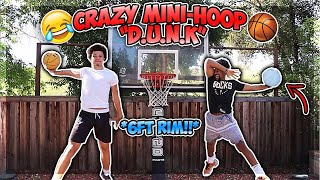 "EXTREME MINI-HOOP Game Of ""D.U.N.K."""