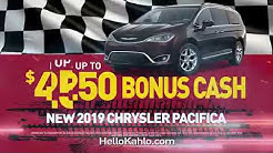 May 2019 Pacifica Conquest Bonus Cash