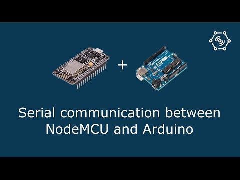 Serial Communication Between NodeMCU And Arduino