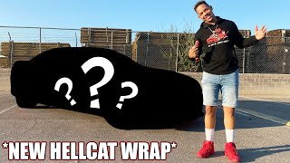I WRAPPED MY BROTHERS HELLCAT CHARGER! *EMOTIONAL SURPRISE*