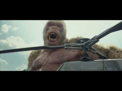 ford bronco in rampage movie trailer