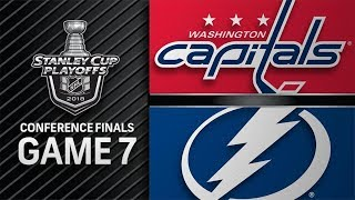 Washington Capitals vs Tampa Bay Lightning – May. 23, 2018 | Game 7 | Stanley Cup 2018. Обзор thumbnail