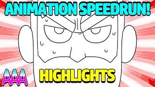 Animation Speedrun in 3 hours!? Sad Mix E01 Stream Highlights!