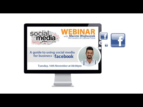 A guide to using social media for business on Facebook Part I