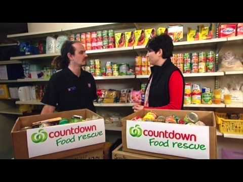 Salvation Army Food Bank On Countdown Today