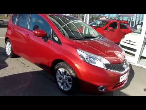 2013 63 Nissan Note 1.2 Acenta 5dr In Red