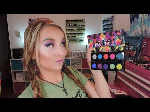 1st Impression : Look : Urban Decay Electric Pressed Pigment Palette