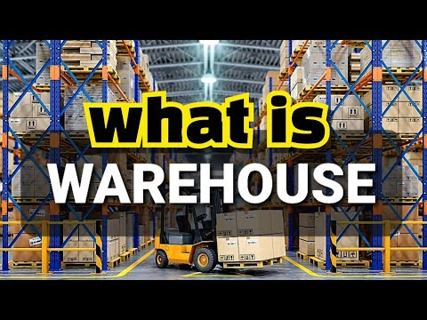 What is The Meaning of Warehouse ? |Warehousing Types and Their Functions|Explained in A Simple Way!