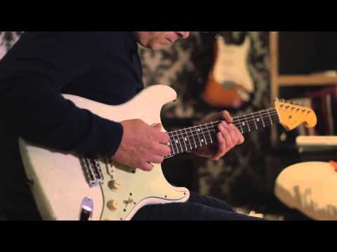 Glen Parish   Session Guitarist  playing a 62 Fender Strat