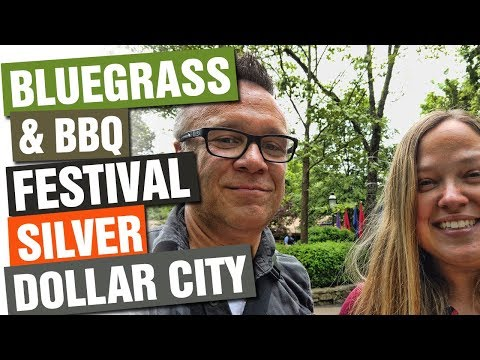 OPENING DAY At Silver Dollar City's Bluegrass And BBQ Festival!