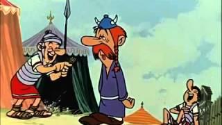 Asterix der Gallier auf sächsisch