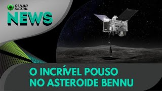 Ao Vivo | O incrível pouso no asteroide Bennu | 20/10/2020 #OlharDigital