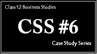 Case 6, Case Study Series (Mind Your own Business)